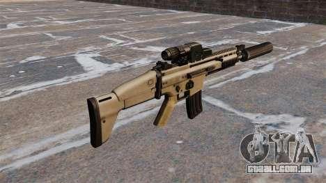Fuzil de assalto FN SCAR para GTA 4 segundo screenshot