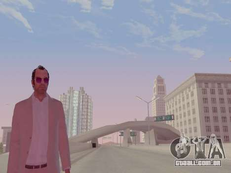 Trevor Phillips para GTA San Andreas por diante tela