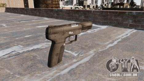 Carregamento automático pistola FN Five-seveN para GTA 4 segundo screenshot