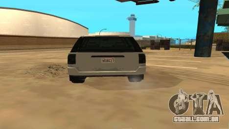 Baller GTA 5 para GTA San Andreas vista direita