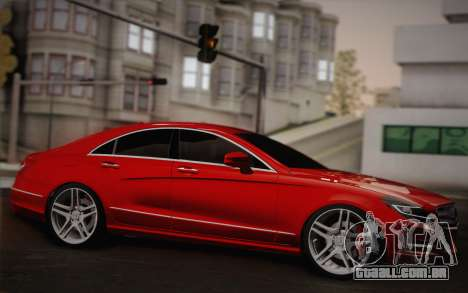 Mercedes-Benz CLS 63 AMG 2012 Fixed para GTA San Andreas vista interior