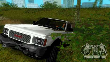 GMC Cyclone 1992 para GTA Vice City vista lateral