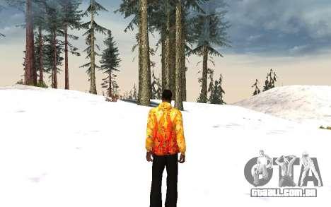 Jaqueta Sochi 2014 para GTA San Andreas terceira tela