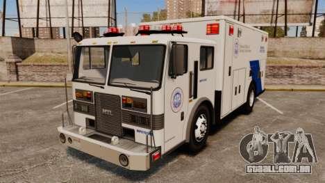 Hazmat Truck NOOSE [ELS] para GTA 4