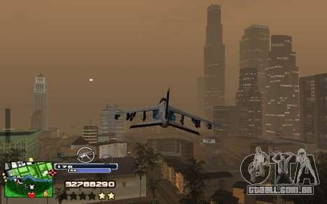 C-HUD Into para GTA San Andreas