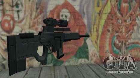 Rifle sniper de Resident Evil 4 para GTA San Andreas segunda tela