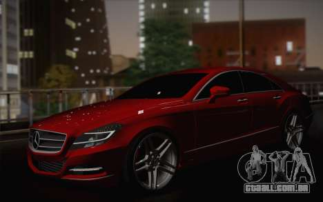 Mercedes-Benz CLS 63 AMG 2012 Fixed para o motor de GTA San Andreas