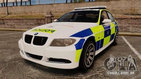 BMW 330i Hampshire Police [ELS] para GTA 4