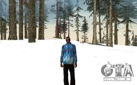 Jaqueta Sochi 2014 para GTA San Andreas