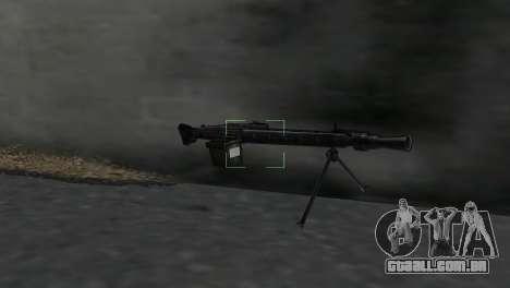 Metralhadora MG-3 para GTA Vice City segunda tela