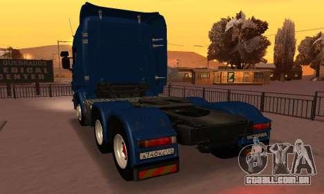 Scania Topline R730 V8 para GTA San Andreas esquerda vista