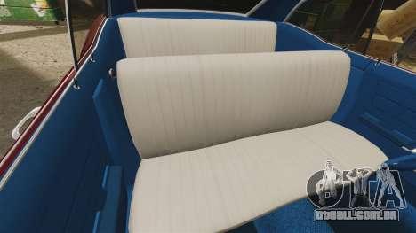 Chevrolet Impala 1967 para GTA 4 vista lateral