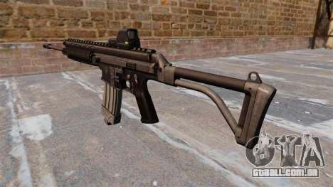 Robinson Armamento XCR Rifle para GTA 4 segundo screenshot