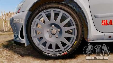 Peugeot 307 WRC para GTA 4 vista de volta