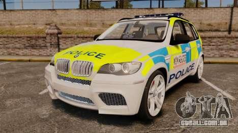 BMW X5 City Of London Police [ELS] para GTA 4