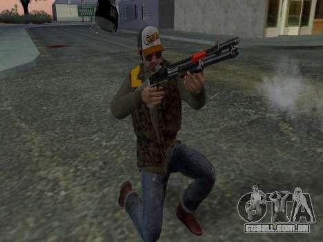 Trevor Phillips para GTA San Andreas décimo tela