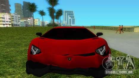 Lamborghini Aventador LP720-4 50th Anniversario para o motor de GTA Vice City