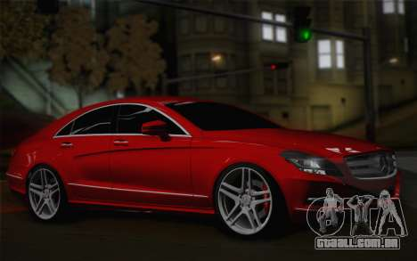 Mercedes-Benz CLS 63 AMG 2012 Fixed para GTA San Andreas esquerda vista