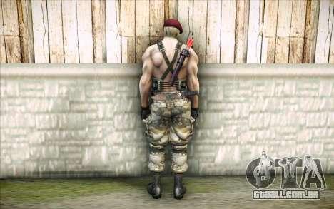 Jack Krauser mercenário para GTA San Andreas segunda tela