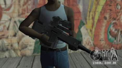 Rifle sniper de Resident Evil 4 para GTA San Andreas terceira tela
