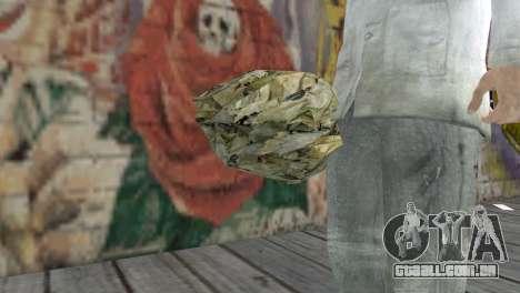 Uma palheta para GTA San Andreas terceira tela