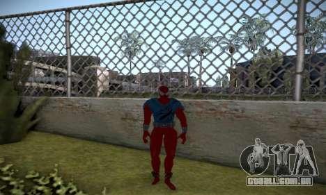 Spider man EOT Full Skins Pack para GTA San Andreas sexta tela