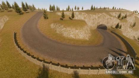 Cliffside localização Rally para GTA 4 quinto tela