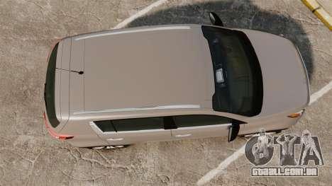Kia Sportage Unmarked Police [ELS] para GTA 4 vista direita