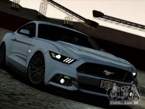 Ford Mustang GT 2015 v2 para GTA San Andreas