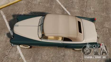Cadillac Series 62 1949 para GTA 4 vista direita