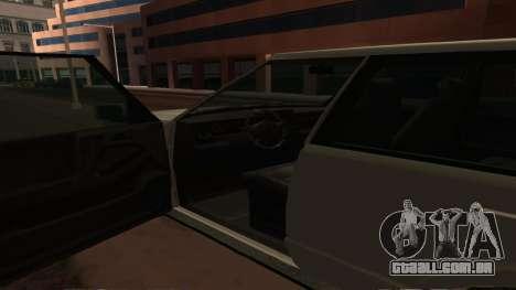 Baller GTA 5 para GTA San Andreas vista superior