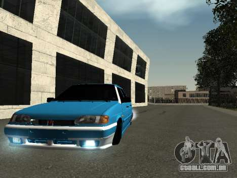 ВАЗ 2114 para vista lateral GTA San Andreas