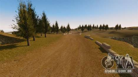 Cliffside localização Rally para GTA 4 por diante tela