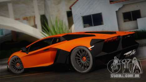Lamborghini Aventador LP 700-4 RENM Tuning para GTA San Andreas esquerda vista