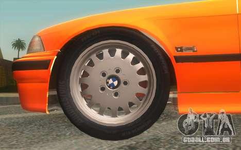 BMW 325i E36 Convertible 1996 para GTA San Andreas vista direita