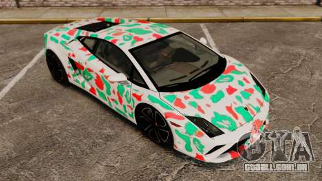 Lamborghini Gallardo 2013 v2.0 para GTA 4 vista inferior