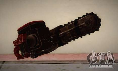 Nova motosserra para GTA San Andreas