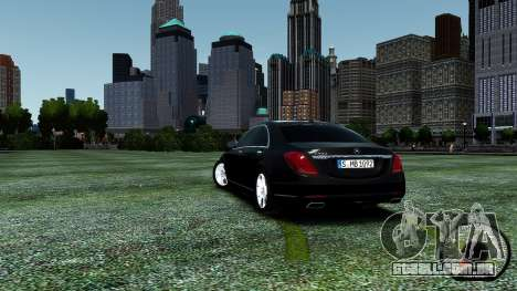 Mercedes-Benz S-Class W222 2014 para GTA 4 vista lateral
