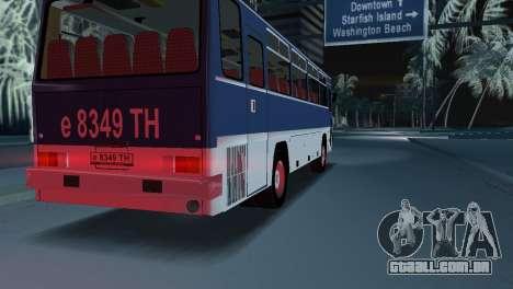 IKARUS 255 para GTA Vice City deixou vista