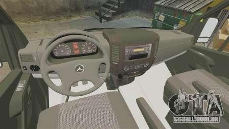 Mercedes-Benz Sprinter [ELS] London Ambulance para GTA 4 vista de volta