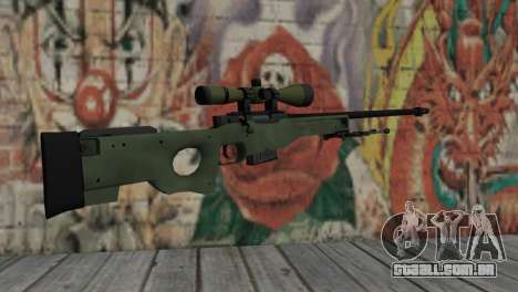AWP from CS:GO para GTA San Andreas segunda tela