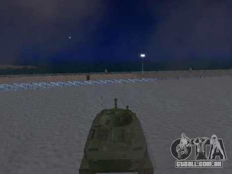 PT-76 para GTA San Andreas vista traseira