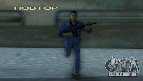 M4 da versão XBOX para GTA Vice City terceira tela