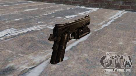 Pistolas semi-automáticas Kimber para GTA 4 segundo screenshot