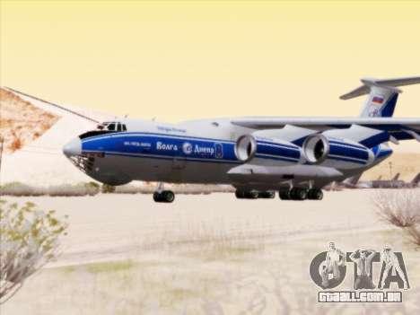 Il-76td-90vd de Volga-Dnepr para GTA San Andreas