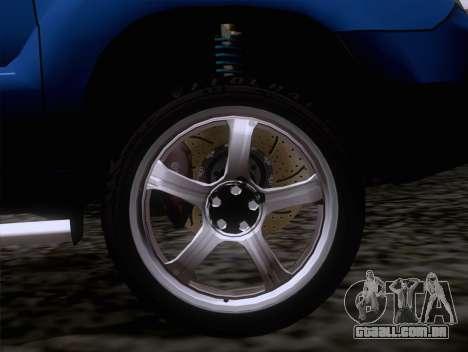 Subaru Forester 2.5XT 2005 para GTA San Andreas vista direita