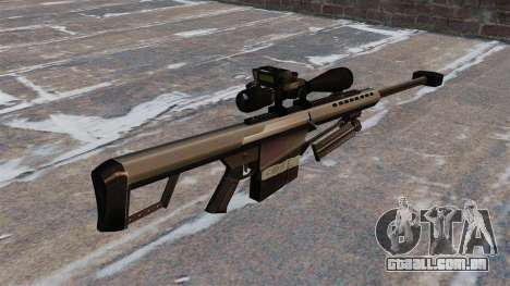 O Barrett M82 sniper rifle calibre 50 para GTA 4 segundo screenshot