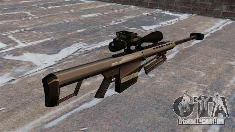O Barrett M82 sniper rifle calibre 50 para GTA 4 segundo screenshot
