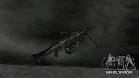 Metralhadora MG-3 para GTA Vice City terceira tela