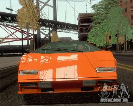 Lamborghini Countach LP500 Quattrovalvole 1988 para GTA San Andreas
